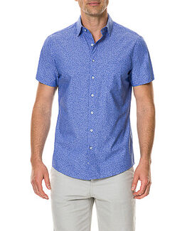 Riverview Road Sports Fit Shirt/Aquamarine XS, AQUAMARINE, hi-res