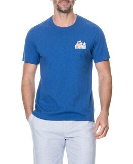 Seapoint Drive Sports Fit T-Shirt /Cobalt XS, COBALT, hi-res