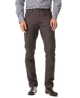 Craigavon Relaxed Fit Jean, BARK, hi-res