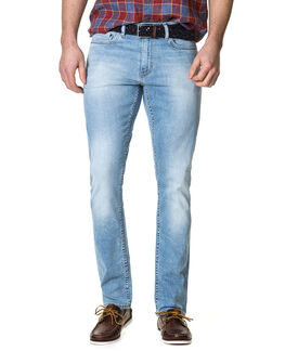 Airedale Slim Fit Jean/Rl Bleach Blue 30, BLEACH BLUE, hi-res