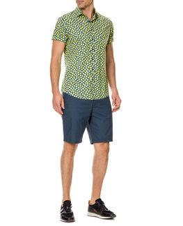 Davis Bay Sports Fit Shirt/Azure XS, AZURE, hi-res