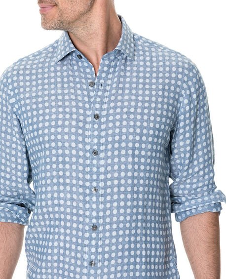 Pickersgill Sports Fit Shirt, CHAMBRAY, hi-res