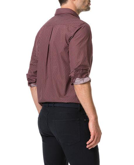Mckenna Creek Shirt, MERLOT, hi-res