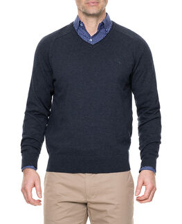Arbors Track Sweater, MARINE, hi-res