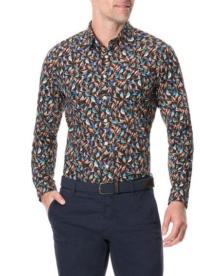 Cashmere Hill Sports Fit Shirt, SEPIA, hi-res