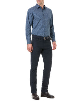 Scotland Street Sports Fit Shirt/Navy XS, NAVY, hi-res