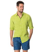 Coromandel Sports Fit Shirt, LIME, hi-res