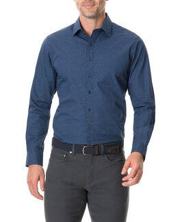Arkles Bay Sports Fit Shirt/Marine XS, MARINE, hi-res
