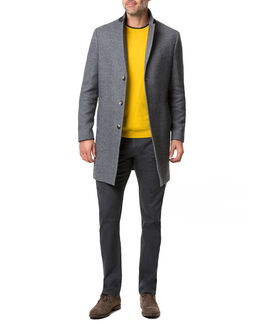 Calton Hill Coat/Ash XS, ASH, hi-res
