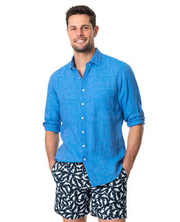 Coromandel Sports Fit Shirt, OCEAN, hi-res