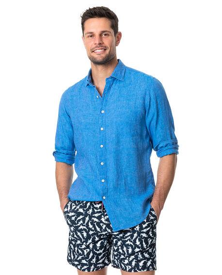 Coromandel Sports Fit Shirt, OCEAN, hi-res