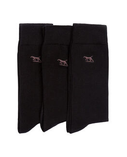 Dry Plains Three Pack Socks / Onyx 0, ONYX, hi-res