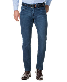 Briggs Straight Jean/Rl Denim 30, DENIM, hi-res
