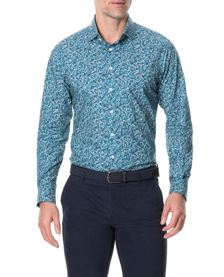Dallington Sports Fit Shirt, SAPPHIRE, hi-res