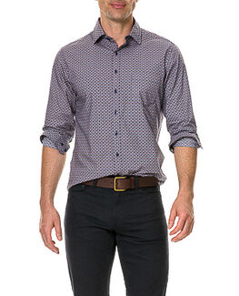 Fenton Park Sports Fit Shirt, ROYAL, hi-res