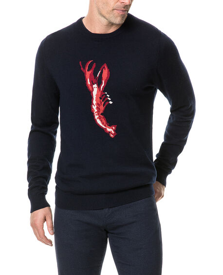 Nautic Marine Sweater, NAVY, hi-res