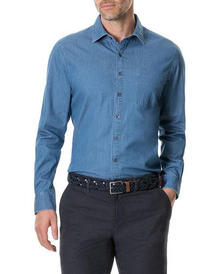 Tinline River Shirt, DENIM, hi-res