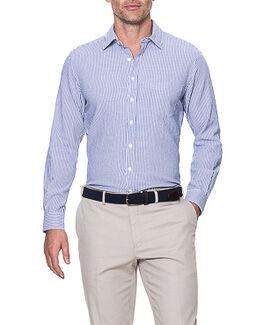 Queensberry Sports Fit Shirt/Royal XS, ROYAL, hi-res