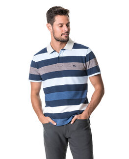Fairfield Sports Fit Polo /Ocean XS, OCEAN, hi-res