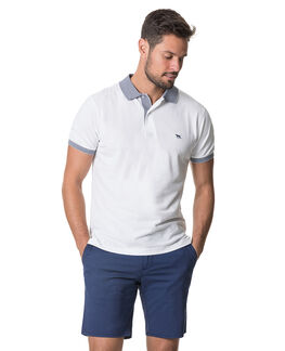 New Haven Sports Fit Polo, SNOW, hi-res