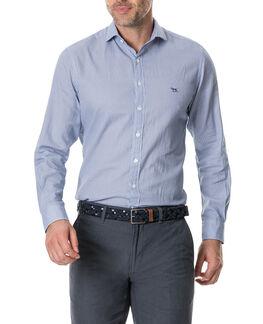 Castor Bay Sports Fit Shirt /Azure XS, AZURE, hi-res