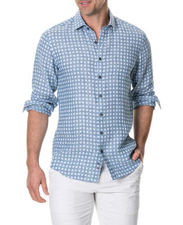 Pickersgill Sports Fit Shirt/Chambray XS, CHAMBRAY, hi-res