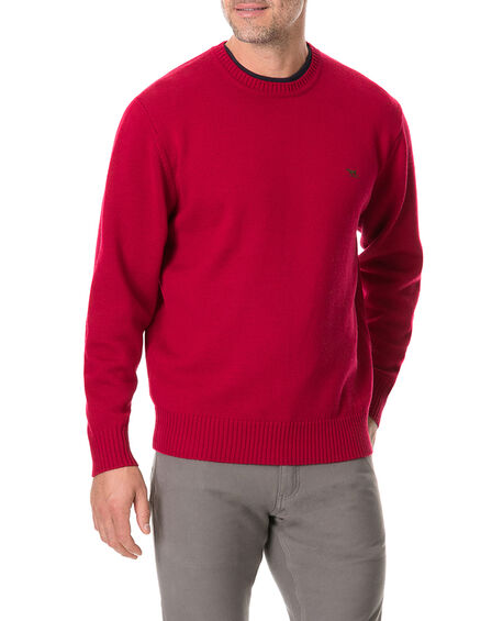 Gibbston Bay Knit, BURGUNDY, hi-res