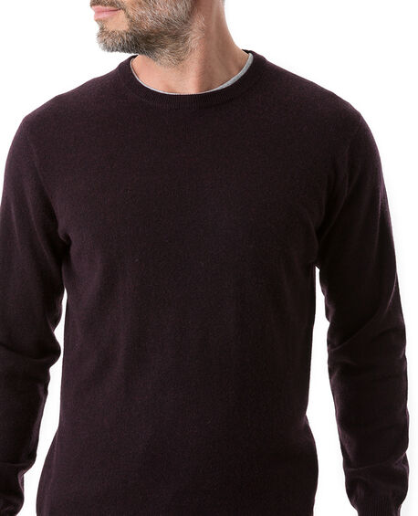 Queenstown Sweater, BLACK FIG, hi-res