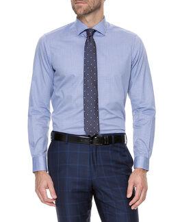 Devonshire Slim Fit Shirt/Lilac 38, LILAC, hi-res