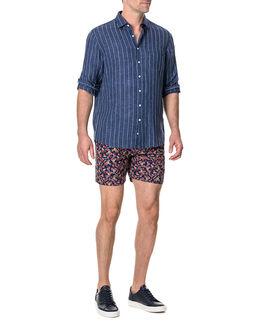 Mangle Valley Shirt/Navy XS, NAVY, hi-res