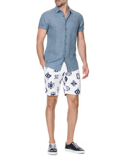 York Bay Sports Fit Shirt/Stonewash XS, STONEWASH, hi-res