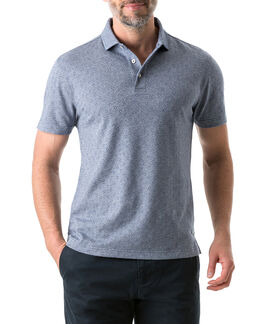 New Haven Sports Fit Polo, INDIGO, hi-res