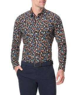 Cashmere Hill Sports Fit Shirt/Sepia XS, SEPIA, hi-res