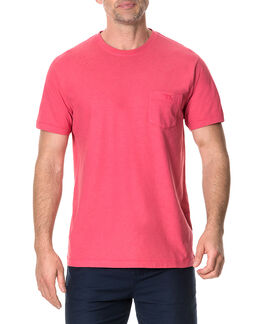 Wayland T-Shirt , CHERRY, hi-res