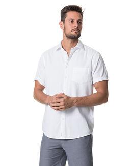 Campbell Island Shirt, SNOW, hi-res