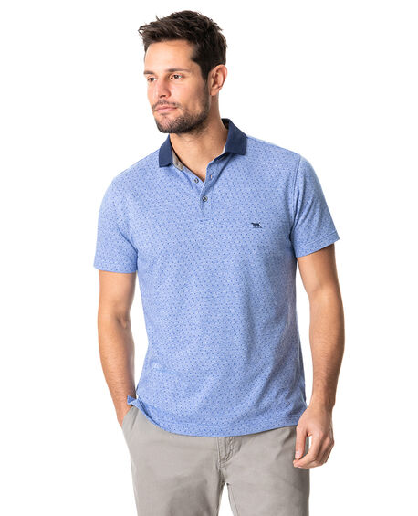 Inlet Sports Fit Polo, SEA, hi-res
