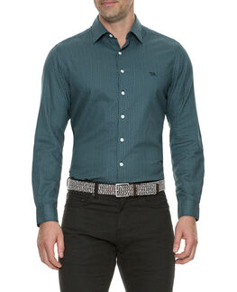 Oreti Beach Sports Fit Shirt/Pine XS, PINE, hi-res