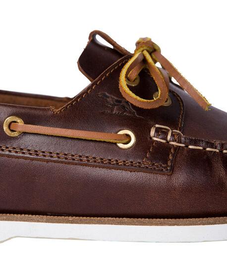 Governors Bay Boat Shoe, MAHOGANY, hi-res