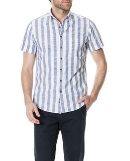 Fireshaw Sports Fit Shirt/Bluebell XS, BLUEBELL, hi-res