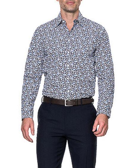 Donoghues Sports Fit Shirt, ROYAL, hi-res