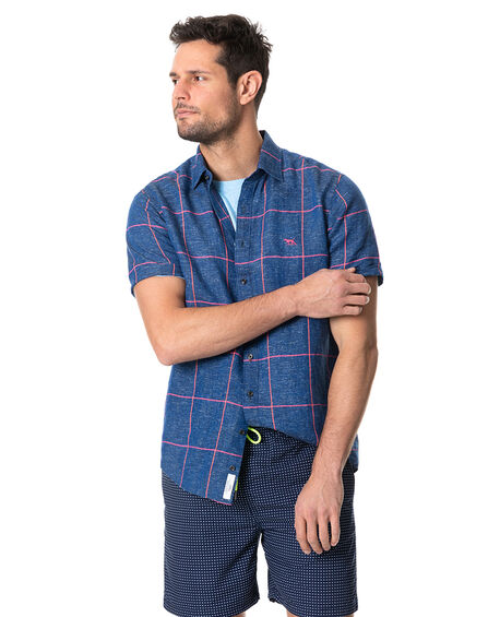 Tucker Road Shirt, DENIM, hi-res
