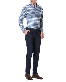 Monaghan Sports Fit Shirt/Indigo XS, INDIGO, hi-res