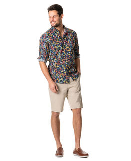 Favona Sports Fit Shirt/Nero XS, NERO, hi-res