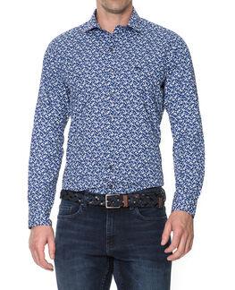 Riverside Sports Fit Shirt/Ink XS, INK, hi-res