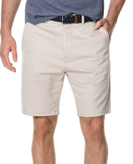 Royce Hill Slim Fit Short, NATURAL, hi-res