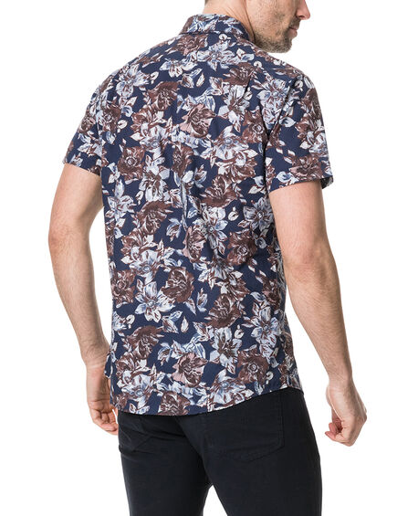 Gifford Sports Fit Shirt, INDIGO, hi-res