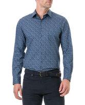 Scotland Street Sports Fit Shirt, NAVY, hi-res