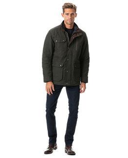Harper Waxed Jacket/Olive XS, OLIVE, hi-res