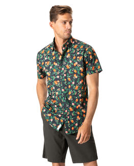 Moana Point Shirt/Tangerine XS, TANGERINE, hi-res
