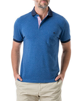 Gap Road Sports Fit Polo, AZURE, hi-res